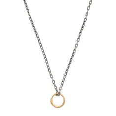 Snake ring pendant necklace in gold - € 450