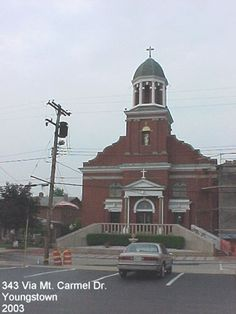 Our Lady of Mount Carmel Roman Catholic Church - where my parents were married.