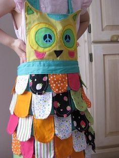 owl apron - I need this