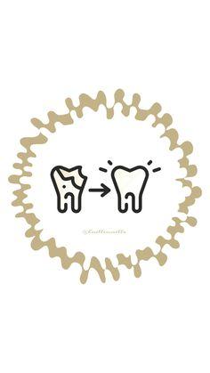 Dental Posters, Dental Braces, Dental Art, Instagram Highlight Icons, Dentistry, Teeth, Iphone Wallpaper, Highlights, Fitness