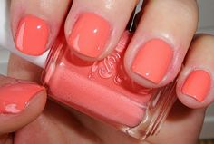 Coral is a HOT spring trend - Tart Deco by Essie