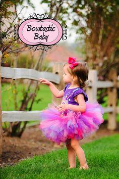 Sassy Princess. Beautiful custom made tutu to fit by BowtasticBaby