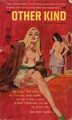 Arte Pulp Fiction, Pulp Fiction Book, Pulp Novel, Fiction Novels, Vintage Lesbian, Lesbian Art, Archie Comics, Vintage Comics, Vintage Posters