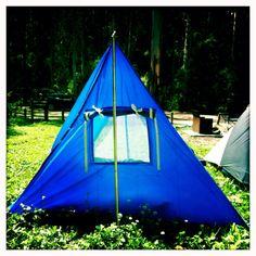Tent & sun