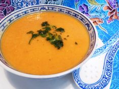 Coconut and Carrot Soup