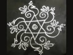 Image result for simple rangolis with dots