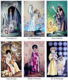 cat people tarot cards photo: cat people tarot cards This photo was uploaded by iamtherealchucknorris