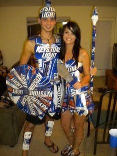 ha ha ha nice Halloween couples costume for college