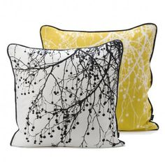 Mother's Day gift ideas - new blog post, click through! #cushions #silhouette #monochrome
