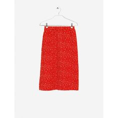 Watermelon & Basil Smash vintage skirt - Molly Swing Vintage