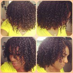 Natural hair - moisture curls
