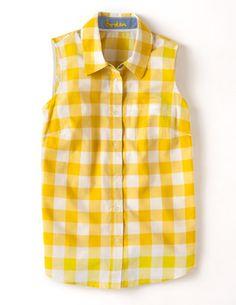 Sleeveless Shirt WA500 Sleeveless Tops at Boden