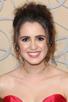 Laura Marano Pinned Up Ringlets - Laura Marano looked classic and demure with her pinned-up ringlets at the HBO Golden Globes after-party.