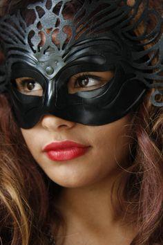Masked woman 7 by CathleenTarawhiti.deviantart.com on @deviantART