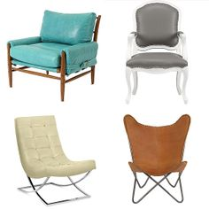 10 Leather Chairs Cooler Than Your Motorcycle Jacket