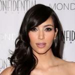 Kim Kardashian Sleek and Long Hairstyle