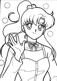 Printable Sailor Moon Coloring Pages