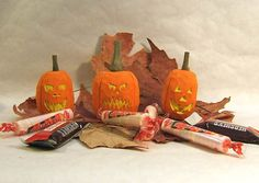 Handmade Jack O'Lantern Pumpkin Wood Carving by ClaudesWoodcarving