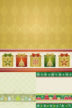 Christmas decorative backgrounds vector