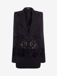 Shop Women's Embroidered Corseted Jacket from the official online store of iconic fashion designer Alexander McQueen.