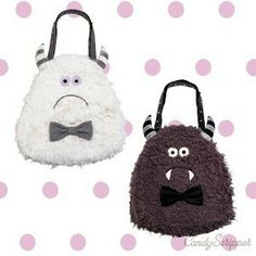 ZOZOPEOPLE | Candy Stripper PRESS - WOOLLY MONSTER BAG