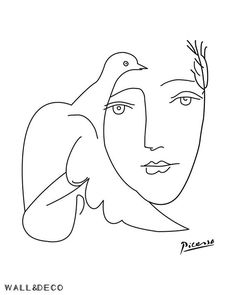 Picasso weibliche Skizze Druck, Linie Zeichnung Wandkunst LIFE / Pieces of art I like Picasso drucke Dove Sketches, Picasso Sketches, Art Drawings Sketches, Tattoo Sketches, Pablo Picasso Drawings, Dress Sketches, Kunst Picasso, Picasso Art, Picasso Paintings