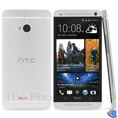 AT&T HTC One M7 Glacial Silver 32GB 4G LTE GSM Smartphone w Beats Audio