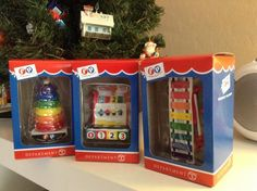 Fisher Price Christmas Ornaments