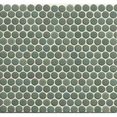 Choose colors that set off your backsplash or shower to perfection with these porcelain tiles from Bedrosians. These tiles feature a Japanese-inspired, penny-sized pattern of dots that's simple and co