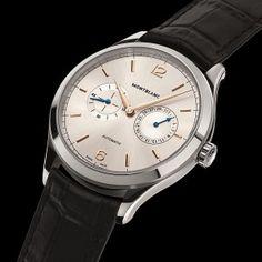 imagen derelojes Montblanc Heritage Chronométrie que se adelantan al SIHH 2016.