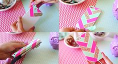Cute things up with decorative tape. | 17 Cheap And Easy DIY Phone Cases You Can Make At Home Right Now