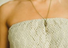 Piace Boutique - Key Love Necklace, $12.00 (http://www.piaceboutique.com/key-love-necklace/)