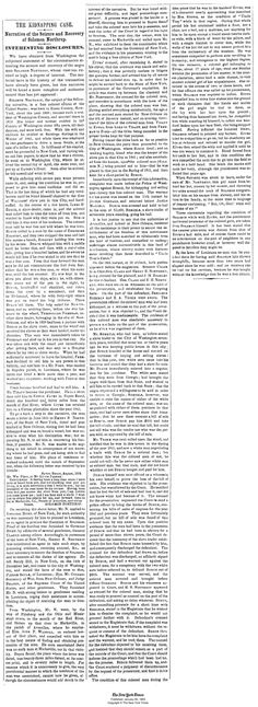 Amazing--the original New York Times article from 1853 about Solomon Northup (12 Years a Slave)... #Oscars #12YearsASlave