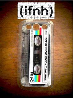 Custom Cassette Tape Galaxy S3 Case Samsung Galaxy Custom by IFNH