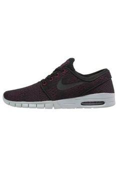 Nike SB STEFAN JANOSKI MAX - Sneaker - villain red/black/wolf grey - Zalando.de