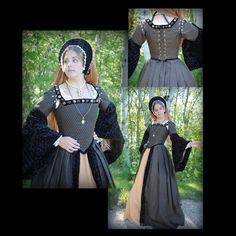 Tudor SCA Boleyn Renaissance Dress gown costume CUSTOM #MattisMillineryCostumers