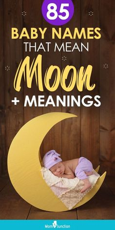 So could there be any better inspiration for your baby's name than this celestial object? MomJunction has compiled an extensive list of names that mean moon or alluding to its gods and goddesses. Check them out below!