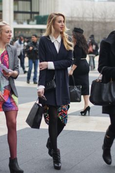 Whitney Port looking amazing as always! I'd probably switch out the skirt for some tailored shorts, though.