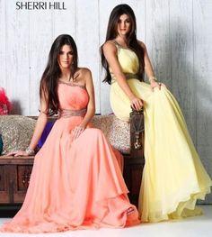 I can't decide which dress I like better! Sherri hill