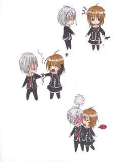 Vampire Knight, Zero and Yuki