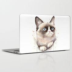 Grumpy Cat Laptop Skins