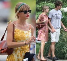 Taylor Swift looks unique and classic in her vintage dresses