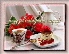 A Megoldás avagy az élet kulcsai - Jókívánságok Good Morning Good Night, Diy And Crafts, Strawberry, Fruit, Ethnic Recipes, Tableware, Happy, Blog, Good Morning Gif