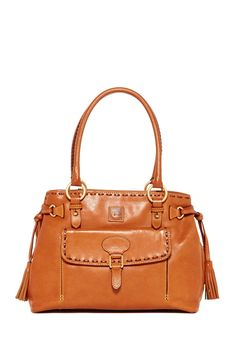Dooney Bourke Medium Pocket Tassel Bag Hautelook