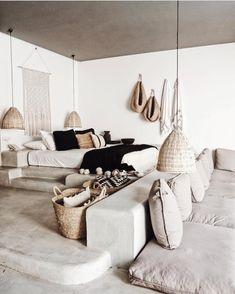 Home Decoration Ideas For Wedding Interior Design Inspiration, Home Interior Design, Home Bedroom, Bedroom Decor, Desert Homes, Deco Design, Tulum, New Room, Ibiza