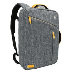 Laptop Briefcase Backpack, Evecase Water Resistant Convertible Laptop Canvas Briefcase Backpack - fits up to 16-inch Laptop - Gray - http://www.mansboss.com/laptop-briefcase-backpack-evecase-water-resistant-convertible-laptop-canvas-briefcase-backpack-fits-up-to-16-inch-laptop-gray/?utm_source=PN&utm_medium=I+Love+Bikes&utm_campaign=SNAP%2Bfrom%2BMen%27s+Stuff