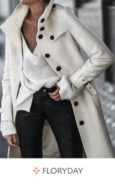 When it is not cold enough to wear thick trench coat outfit Look Fashion, Korean Fashion, Winter Fashion, Feminine Fashion, Fashion Coat, Cheap Fashion, Affordable Fashion, Mode Outfits, Casual Outfits