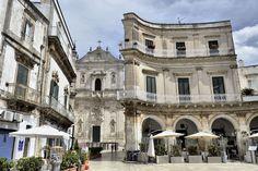 Piazza Plebiscito in Martina Franca, Itria Valley - Puglia, Italy White City, Southern Italy, Turquoise Water, Future Travel, Amalfi Coast, Modern Classic, Naples, Italy Travel, Rome