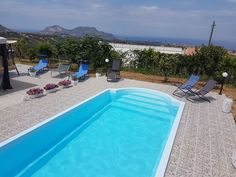 SICILY Villa Annalisa with sea view and pool just steps between Palermo and Cefalù. The villa is located near Casteldaccia 15 minutes from Palermo and 20 minutes fr. Sicily Villas, Palermo, Swimming Pools, To Go, Cottage, Sea, Park, Places, Outdoor Decor
