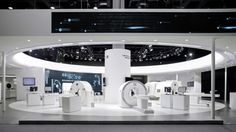 United Imaging Healthcare at Beijing International Medical Fair 2014 by VAVE, China trade fairs Exhibition Stall, Exhibition Stand Design, Exhibition Display, Visual Merchandising, Workplace Design, Retail Interior, Display Design, Design Furniture, Stage Design